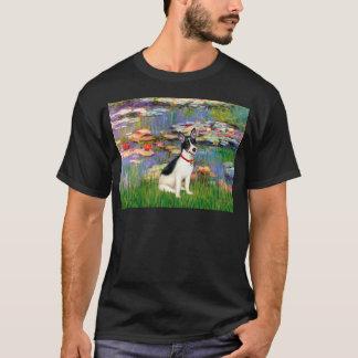 Rat Terrier - Lilies 2 T-Shirt