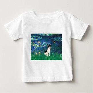 Rat Terrier - Lilies 5 Baby T-Shirt