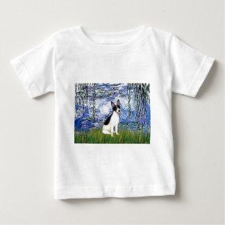 Rat Terrier - Lilies 6 Baby T-Shirt