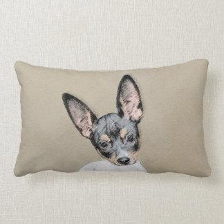 Rat Terrier Lumbar Pillow