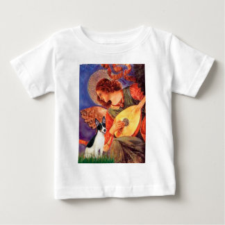 Rat Terrier - Mandolin Angel Baby T-Shirt