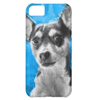 Rat Terrier, Modern Art, iphone 5 Case