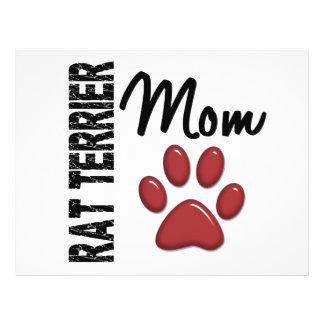 Rat Terrier Mom 2 Custom Flyer