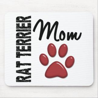 Rat Terrier Mom 2 Mousepad