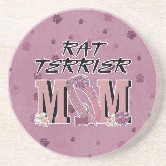 Rat Terrier MOM Coasters