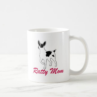 Rat Terrier Mom Coffee Mug