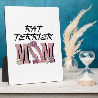 Rat Terrier MOM Display Plaque
