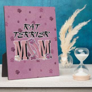 Rat Terrier MOM Display Plaques