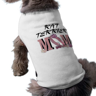 Rat Terrier MOM Dog T Shirt