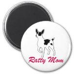 Rat Terrier Mom Magnets