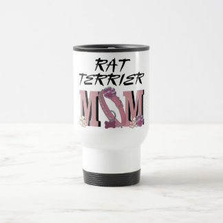 Rat Terrier MOM Travel Mug