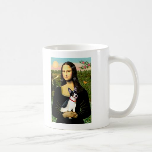 Rat Terrier - Mona Lisa Classic White Coffee Mug