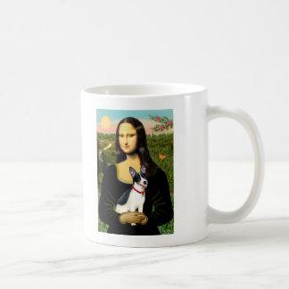 Rat Terrier - Mona Lisa Coffee Mugs