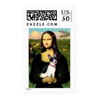 Rat Terrier - Mona Lisa Postage