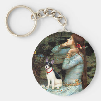 Rat Terrier - Ophelia Seated Key Chain