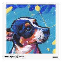 Rat Terrier Pop Art Wall Sticker