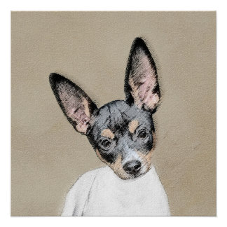 Rat Terrier Poster