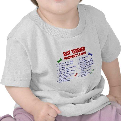 RAT TERRIER Property Laws 2 Shirt