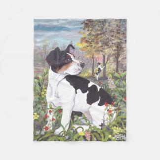 Rat Terrier Puppy Dreamer Fleece Blanket