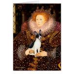 Rat Terrier - Queen Card