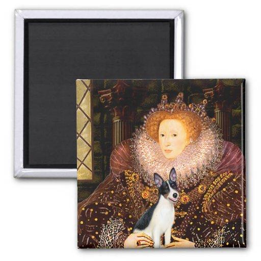 Rat Terrier - Queen Fridge Magnet