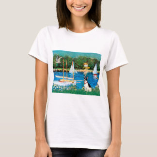 Rat Terrier - Sailboats T-Shirt