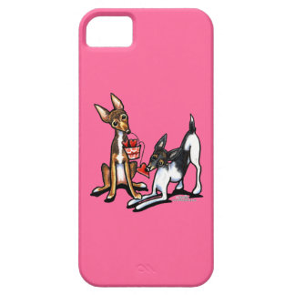 Rat Terrier Sweethearts iPhone SE/5/5s Case