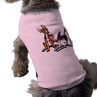 Rat Terrier Sweethearts Valentines Tee