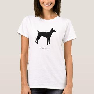 Rat Terrier T-shirt (black version 1)