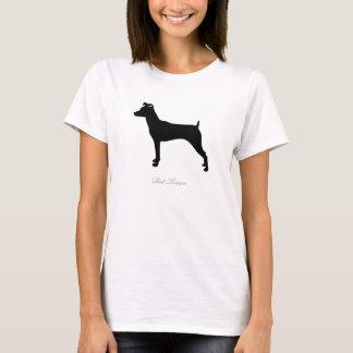 Rat Terrier T-shirt (black version 3)