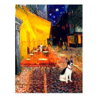 Rat Terrier - Terrace Cafe Post Cards