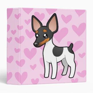 Rat Terrier / Toy Fox Terrier Love Binder