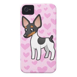 Rat Terrier / Toy Fox Terrier Love Case-Mate iPhone 4 Case