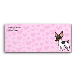 Rat Terrier / Toy Fox Terrier Love Envelope