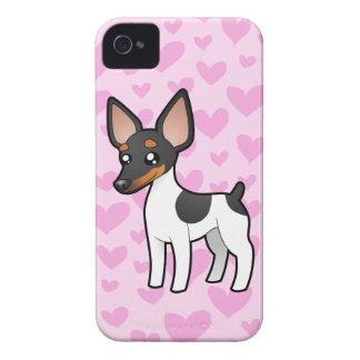 Rat Terrier / Toy Fox Terrier Love iPhone 4 Cover