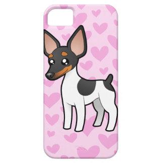 Rat Terrier / Toy Fox Terrier Love iPhone SE/5/5s Case
