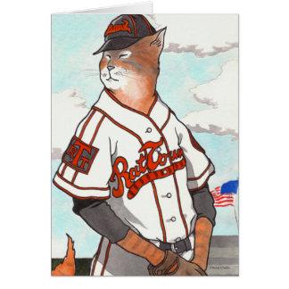 """Rat Town Tigers"" Greeting Card"