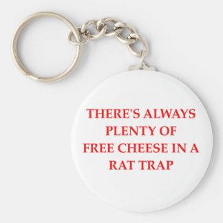 rat trap key chains