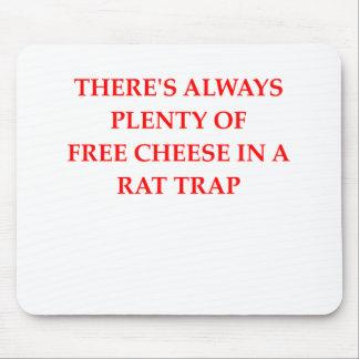 rat trap mouse pad
