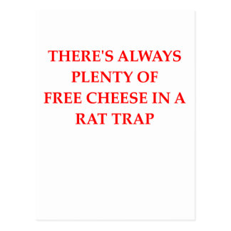 rat trap postcard