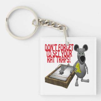Rat Traps Keychain