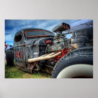 Rat Truck Poster