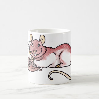 Rat with a Cookie Morphing Mug