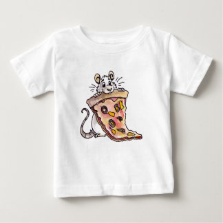 Rat with Pizza Infant T-shirt