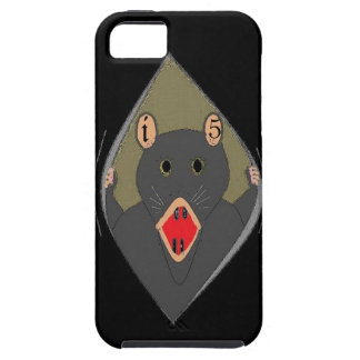 Rat wripping out of your iphone 5 iPhone SE/5/5s case