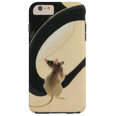 Rat Year 2020 Born in Rat Year Birthday Tough iPhone 6 Plus Case