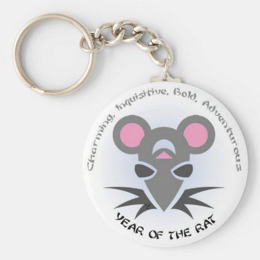 Rat Year Keychain