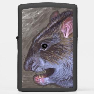 rat Zippo lighter