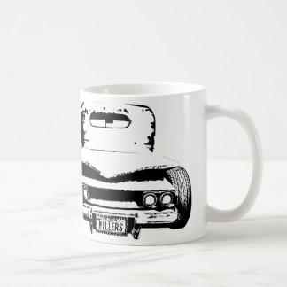 Rata 1946 de la recogida de Chevy Rod RCR Taza Básica Blanca