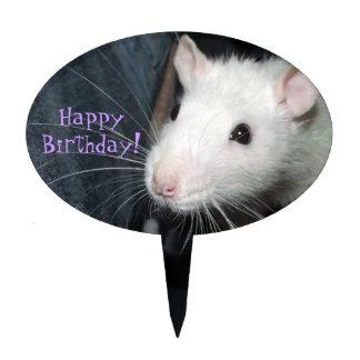 rata amistosa decoración de tarta